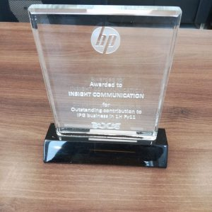 HP Outstanding contribution 2011