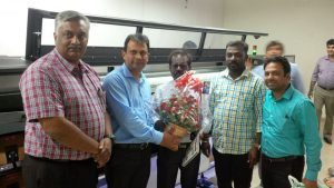 Insight installs India's first HP L1500 at Signage Graphics, Chennai
